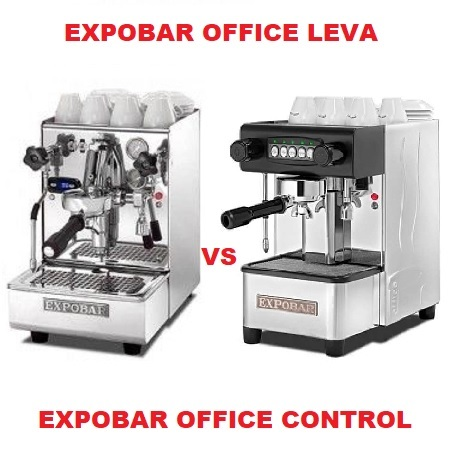 Expobar Office Leva vs Expobar Office Control